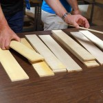 Picking Flame Maple Fretboards
