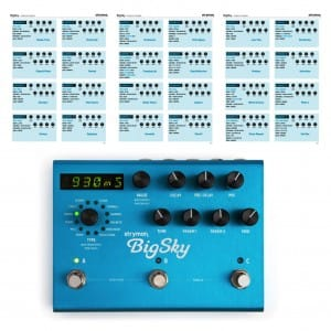 Strymon Big Sky Reverb Pedal Settings Presets Sound