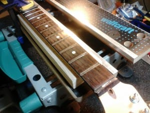 Step 4 - Fret Wire Removal