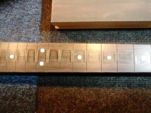 Step 7 - Fingerboard Wear