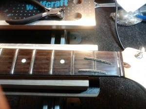 Step 3 - Fret Removal