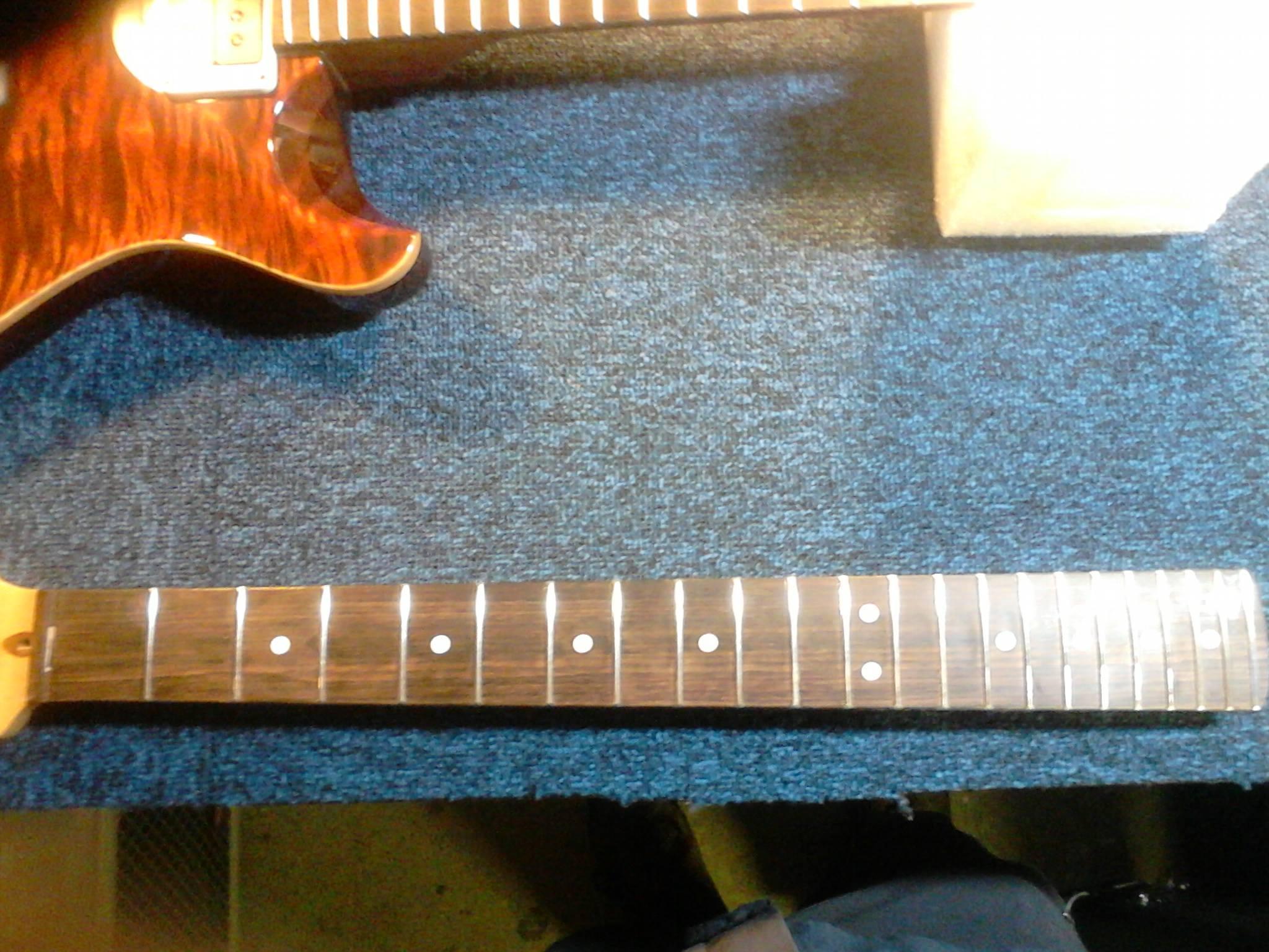 Guitar Tech Services | Re-Fret a Fender Stratocaster | Sound Affects ...