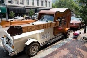 Guitar Shaped Car