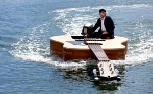 Guitar Shaped Boat