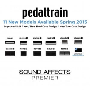 Pedaltrain Announce 11 New Models At Namm 2015 Sound