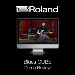 Roland Blues Cube Demo Review With Fender Blues Deluxe Ab