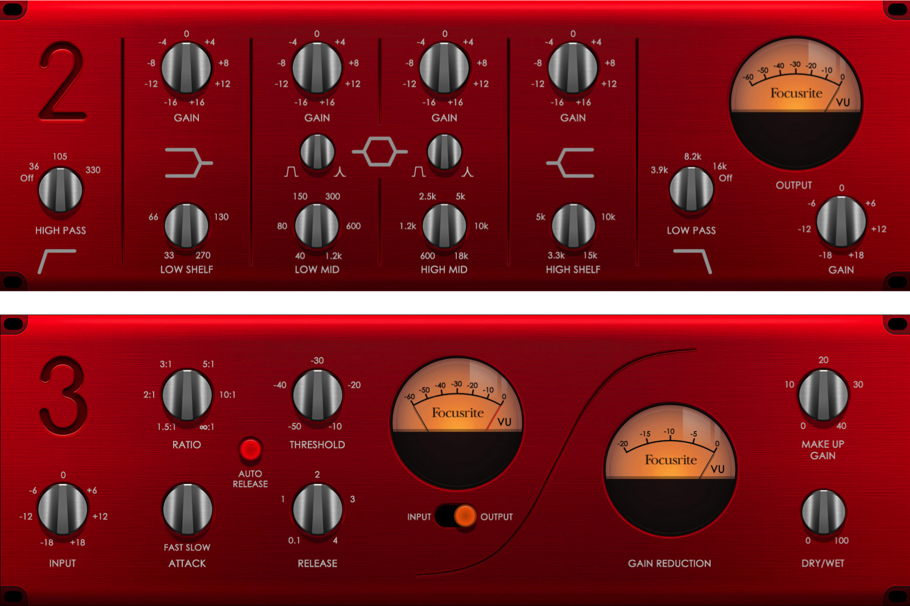 Focusrite Red 2 & 3 Plugin Review | Free when you buy any Scarlett