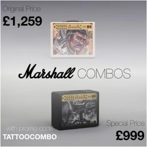Marshall Combos Promo