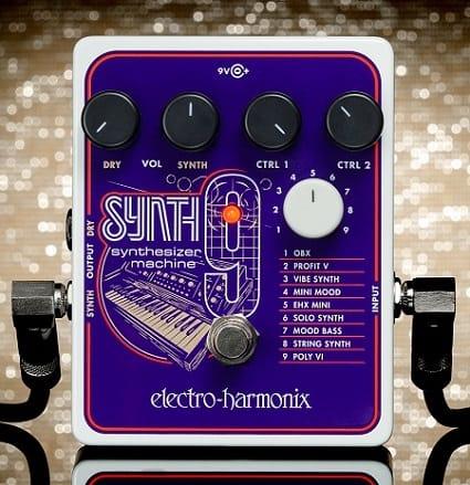 Electro-Harmonix C9 Organ Machine Vintage Tone Guitar//Keyboard Effects Pedal EHX