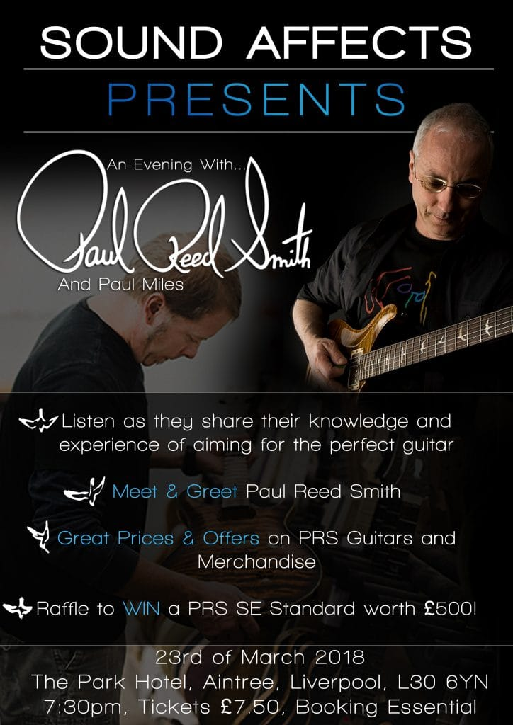 An Evening with Paul Reed Smith and Paul Miles from PRS Guitars