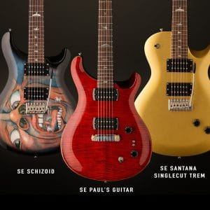 PRS Guitars Introduces Three New SE Signature Models