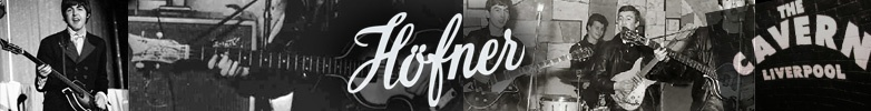 Hofner Bass Guitars