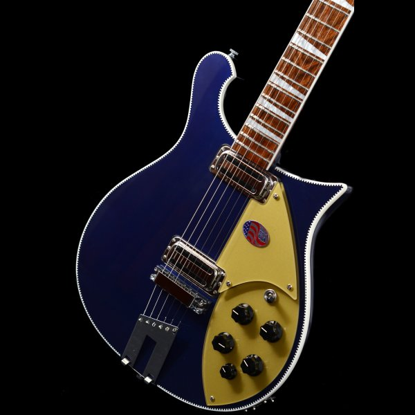 rickenbacker 660 6 string guitar in midnight blue sound affects premier. Black Bedroom Furniture Sets. Home Design Ideas