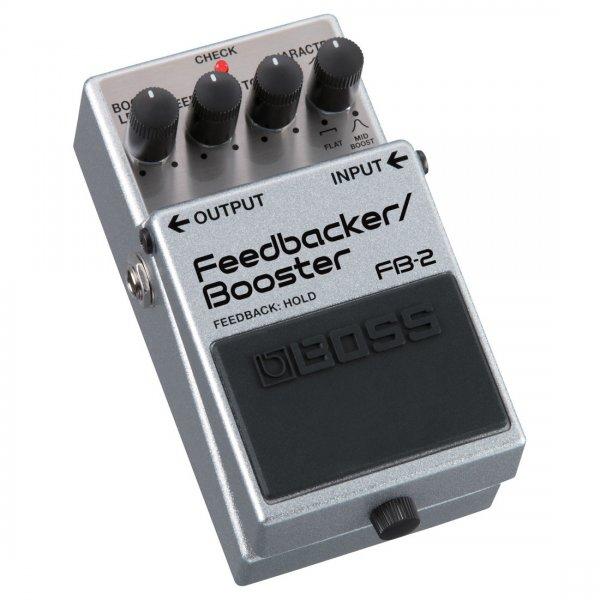buy boss fb 2 feedback booster guitar effects pedal grey. Black Bedroom Furniture Sets. Home Design Ideas