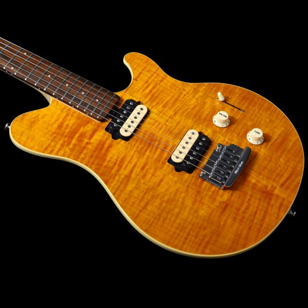 Buy Pre Owned Music Man Axis Supersport Translucent Gold Rosewood Trem