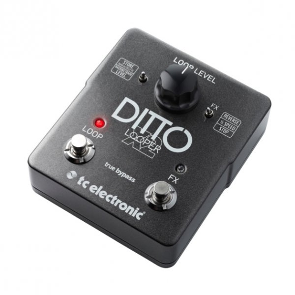 tc electronics ditto x2 looper guitar effects pedal. Black Bedroom Furniture Sets. Home Design Ideas