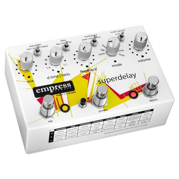 empress superdelay guitar effects delay pedal. Black Bedroom Furniture Sets. Home Design Ideas