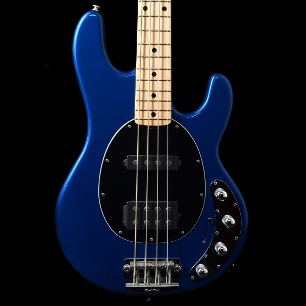 second hand musicman sting ray 4 string in blue pearl for sale. Black Bedroom Furniture Sets. Home Design Ideas