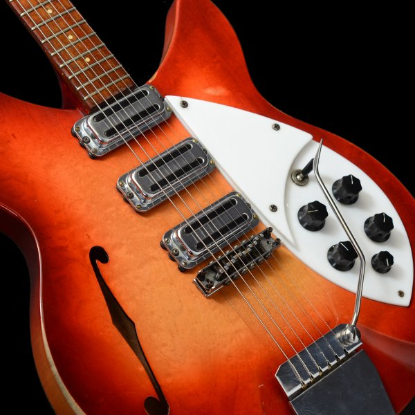 Rickenbacker 1998 Rose Morris Model 1964 Fireglo Vintage Guitar