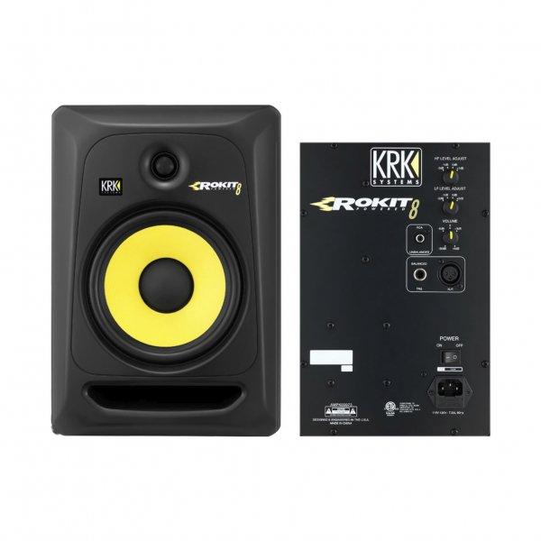 rp8 g3 rokit powered 8 active studio monitor single buy krk. Black Bedroom Furniture Sets. Home Design Ideas