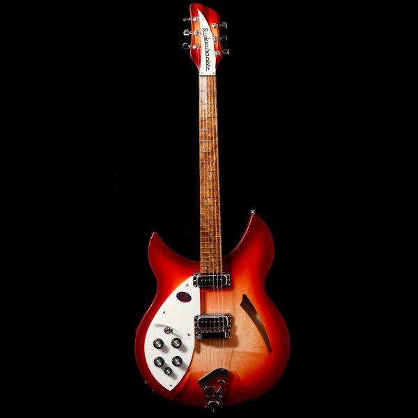 buy rickenbacker 330 6 fireglo left handed electric guitar. Black Bedroom Furniture Sets. Home Design Ideas