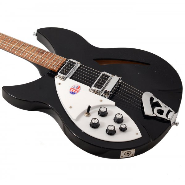 buy rickenbacker 330 6 jetglo left handed electric guitar. Black Bedroom Furniture Sets. Home Design Ideas