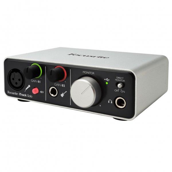 itrack solo audio interface for ipad mac pc buy focusrite. Black Bedroom Furniture Sets. Home Design Ideas