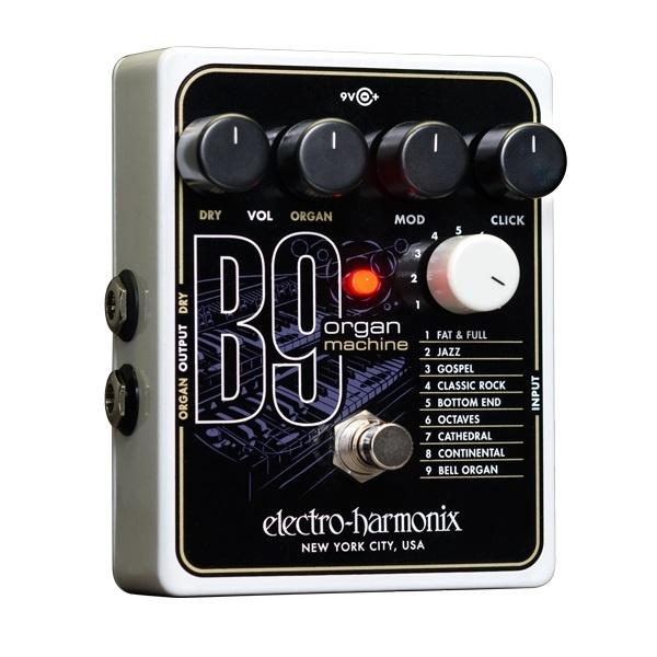 electro harmonix b9 organ machine sound affects premier. Black Bedroom Furniture Sets. Home Design Ideas