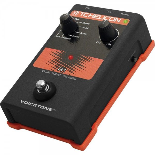 voicetone r1 vocal tuned reverb vocal effects pedal buy tc helicon. Black Bedroom Furniture Sets. Home Design Ideas