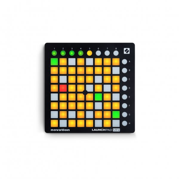 launchpad mini usb midi software controller buy novation. Black Bedroom Furniture Sets. Home Design Ideas