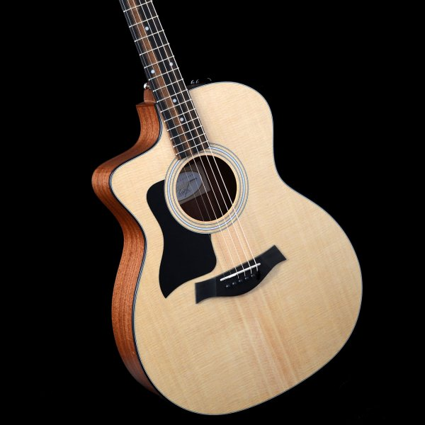 taylor 114ce solid top electro acoustic guitar left handed with cutaway sound affects premier. Black Bedroom Furniture Sets. Home Design Ideas