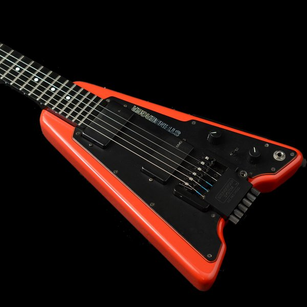 1987 Steinberger Headless Guitar In Red With Tremolo