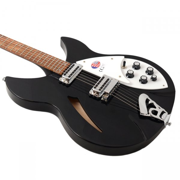 buy rickenbacker 330 6 jetglo vintage pickup upgrade electric guitar. Black Bedroom Furniture Sets. Home Design Ideas