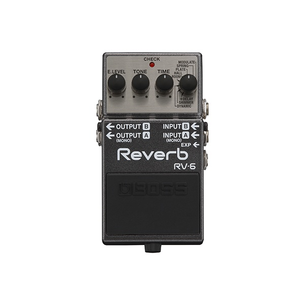 Buy Boss Rv 6 Reverb Compact Guitar Effects Pedal