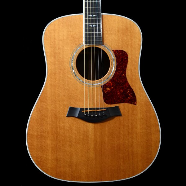 1997 taylor 810 dreadnought acoustic guitar in natural pre owned. Black Bedroom Furniture Sets. Home Design Ideas