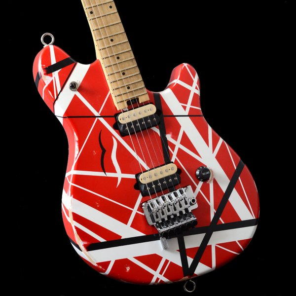 2ae7472d2c9 Peavey USA EVH Wolfgang Special Striped Red White and Black