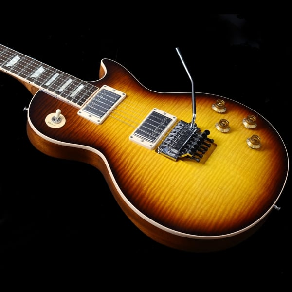 Gibson Custom Alex Lifeson Signature Les Paul Axcess In Victory Brown