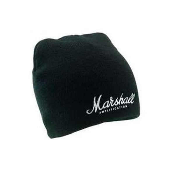 c50b28b5123 Marshall Beanie Hat - Black with White Logo - Accessories from Sound ...