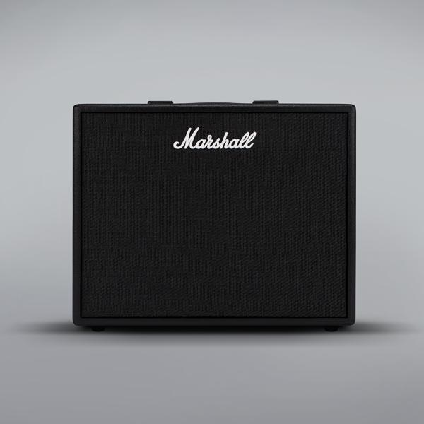 marshall code 50 watt bluetooth guitar combo amplifier. Black Bedroom Furniture Sets. Home Design Ideas
