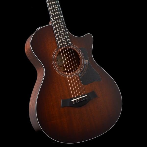 2016 taylor 322ce 12 fret electro acoustic es2 guitar sunburst