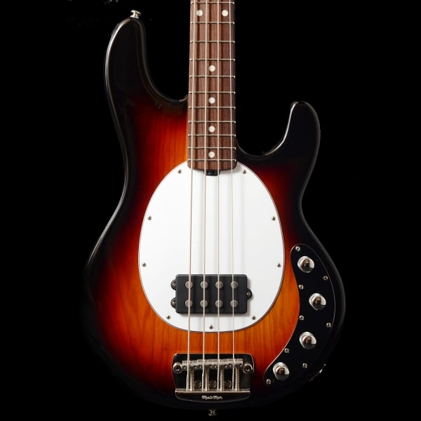 music man stingray 4 3 eq electric bass guitar tobacco sunburst rw sound affects premier. Black Bedroom Furniture Sets. Home Design Ideas