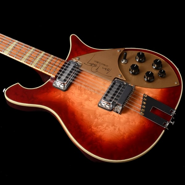 rickenbacker 660 12tp tom petty signature 12 string guitar in fireglo 1991 pre owned. Black Bedroom Furniture Sets. Home Design Ideas