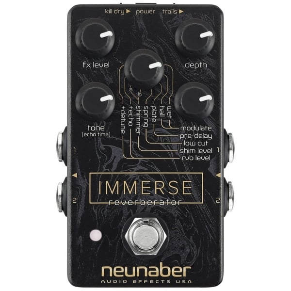 buy neunaber immerse reverberator reverb guitar pedal. Black Bedroom Furniture Sets. Home Design Ideas