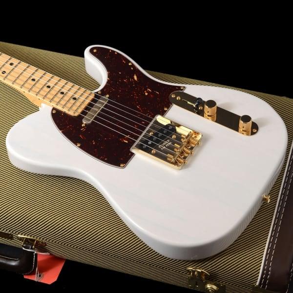 buy fender magnificent 7 ltd edition select lite ash telecaster guitar in white. Black Bedroom Furniture Sets. Home Design Ideas