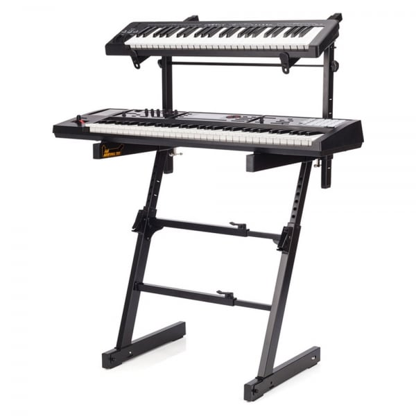 Hercules Double Layer Z Keyboard Stand