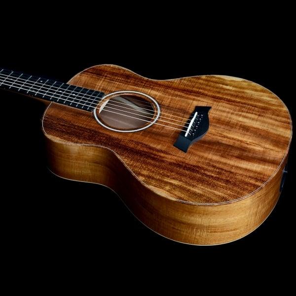 buy taylor gs mini e koa electro acoustic guitar with koa back sides 2106166511. Black Bedroom Furniture Sets. Home Design Ideas