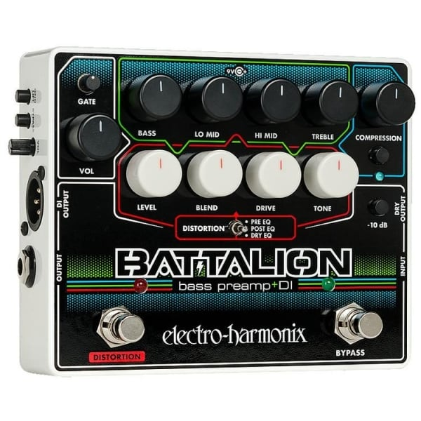 bass preamp di effects pedal for bass guitar buy ehx. Black Bedroom Furniture Sets. Home Design Ideas