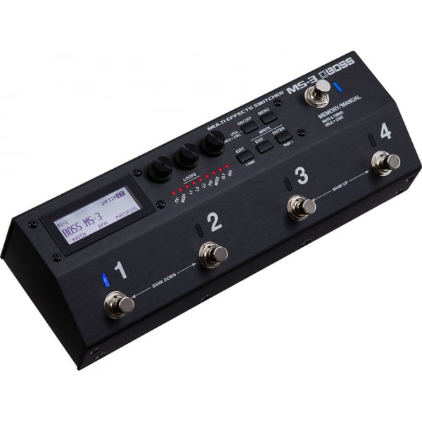 ms 3 multi effects switcher guitar effects pedal buy ms 3. Black Bedroom Furniture Sets. Home Design Ideas
