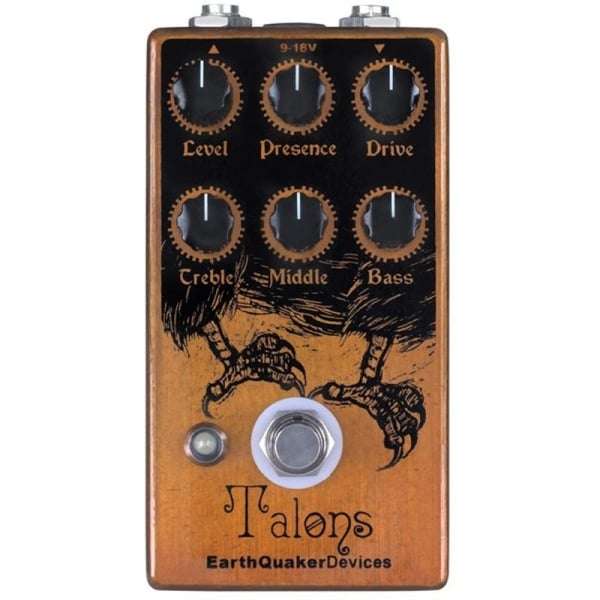 buy earthquaker devices talons hi gain overdrive guitar effects pedal. Black Bedroom Furniture Sets. Home Design Ideas