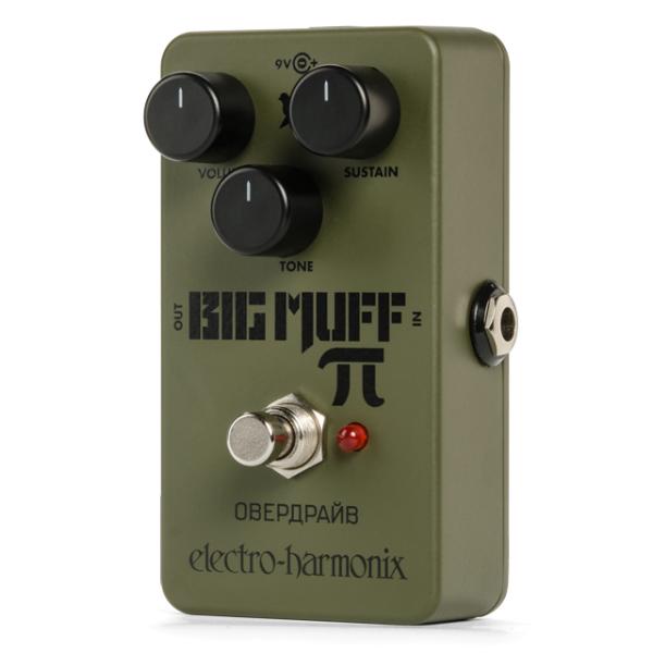 electro harmonix russian big muff distortion fuzz guitar pedal. Black Bedroom Furniture Sets. Home Design Ideas